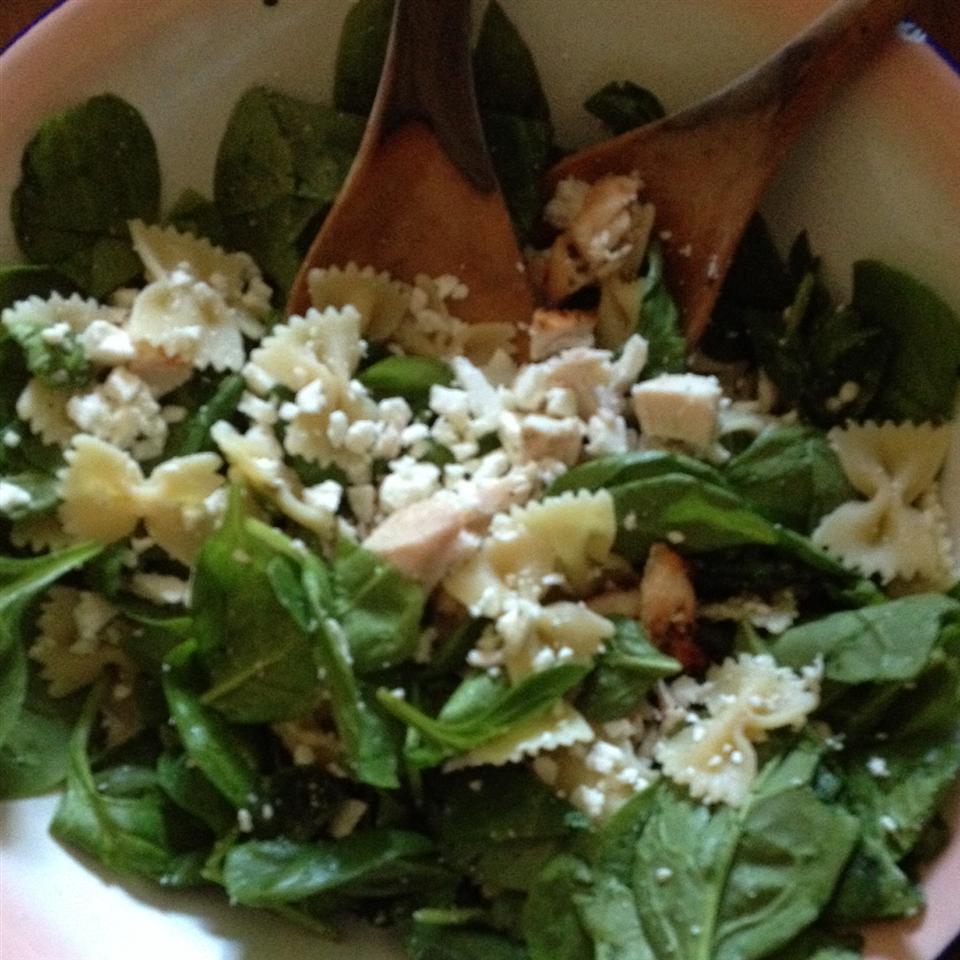 Spinach Pasta Salad EmmyB