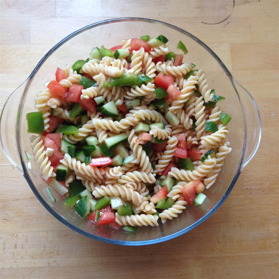 Gazpacho Pasta Salad rah4191
