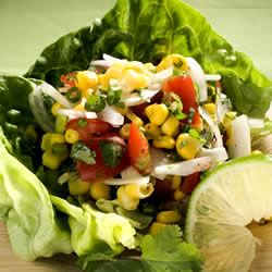 Corn, Sweet Onion, and Tomato Salad Allrecipes Trusted Brands