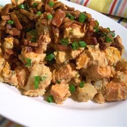Warm Sweet Potato Salad SunnyByrd