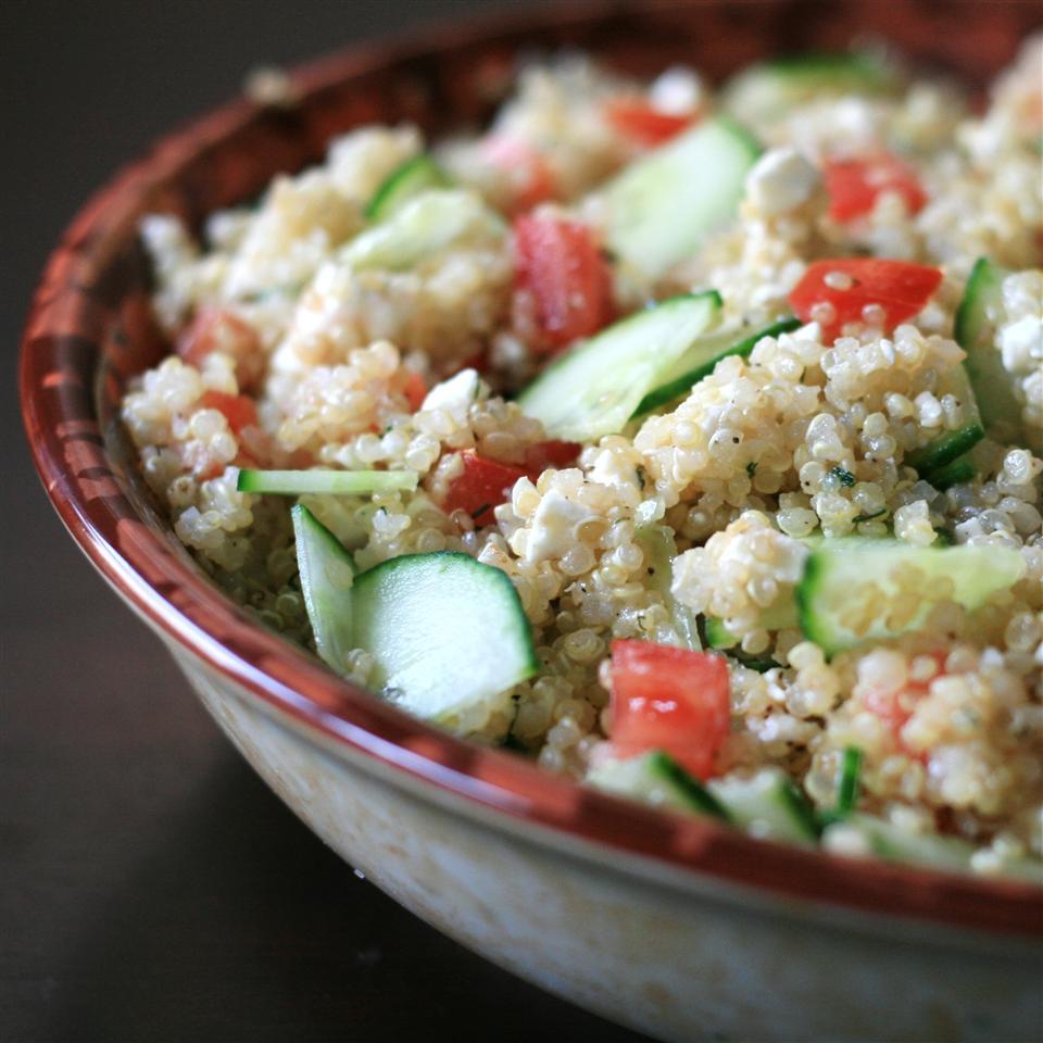 Quinoa Summer Salad with Feta