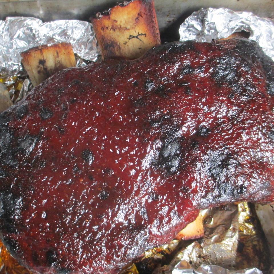 Hot Pepper Jelly BBQ Sauce AuntE