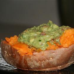 Avocado Stuffed Yams