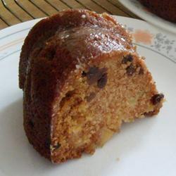 Apple Cake with Raisins