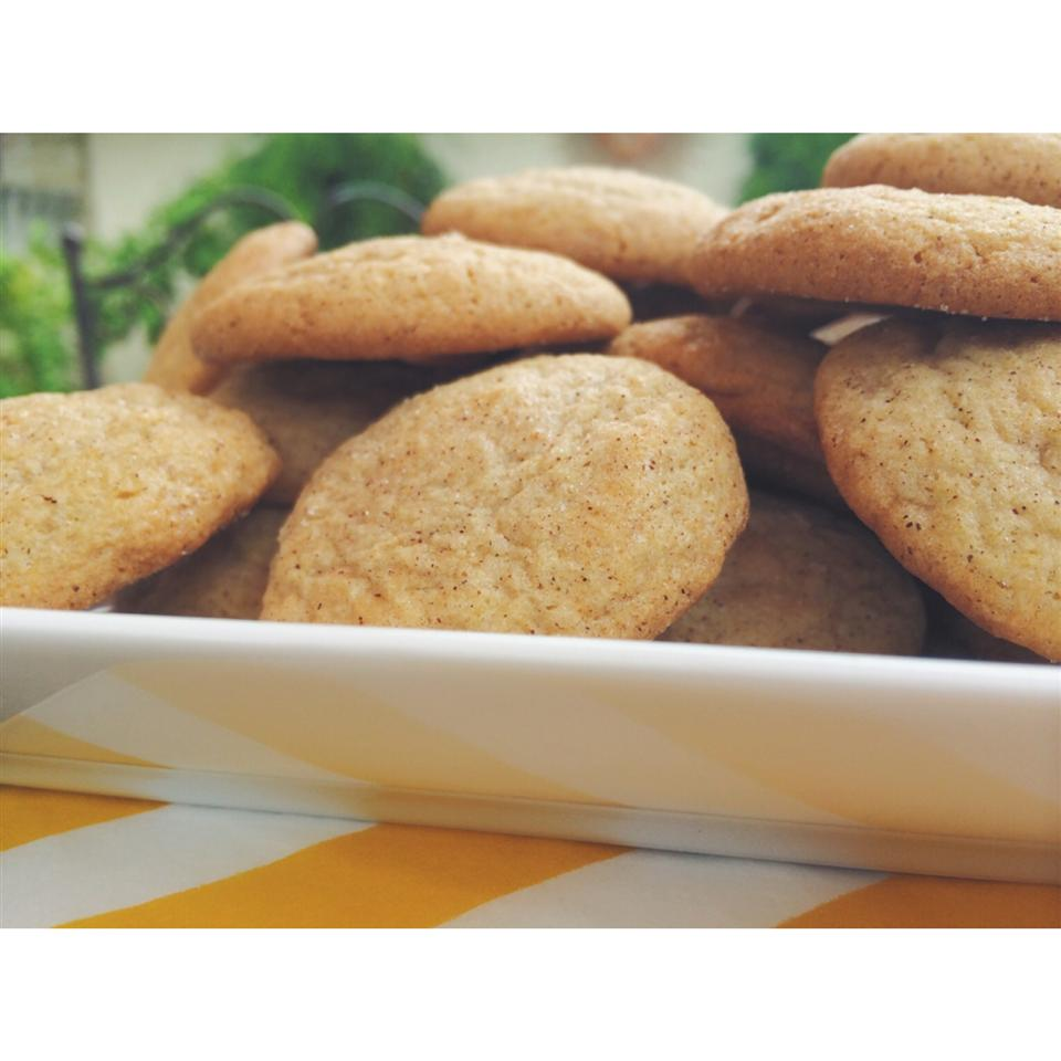 Chai Snickerdoodle Cookies Melodie