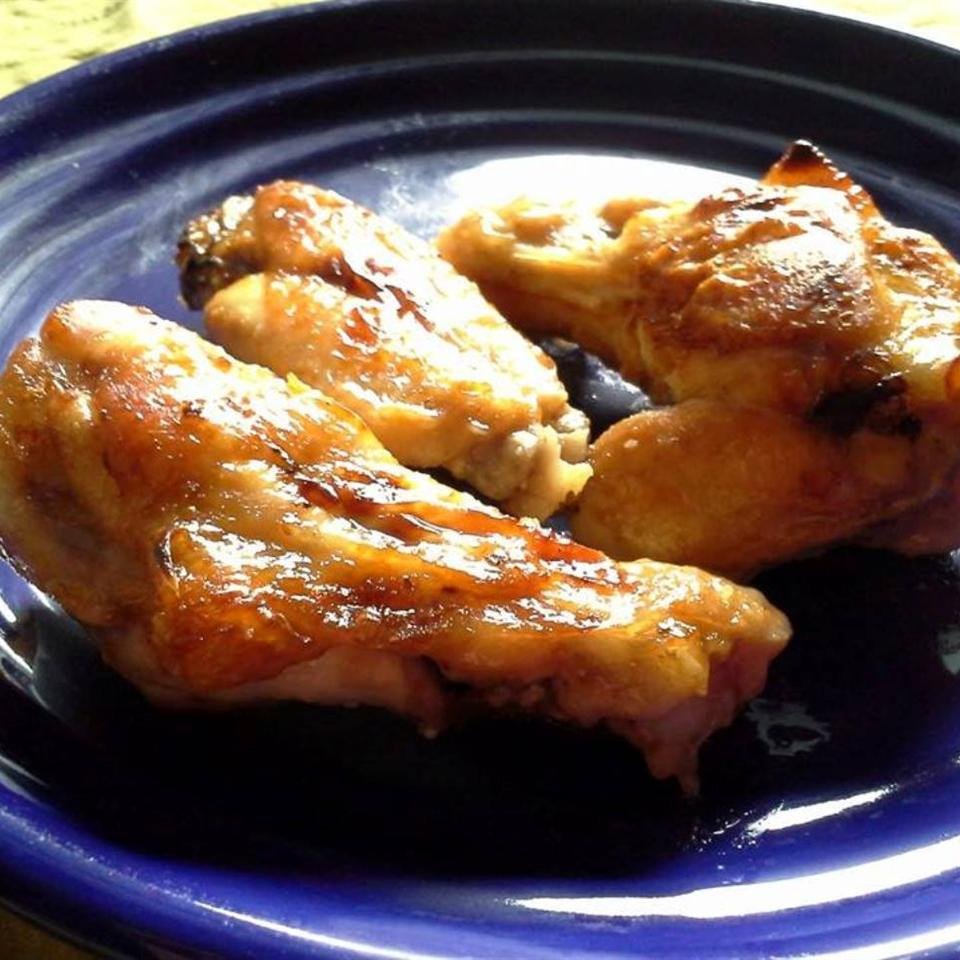 Baked Sticky Chicken Wings