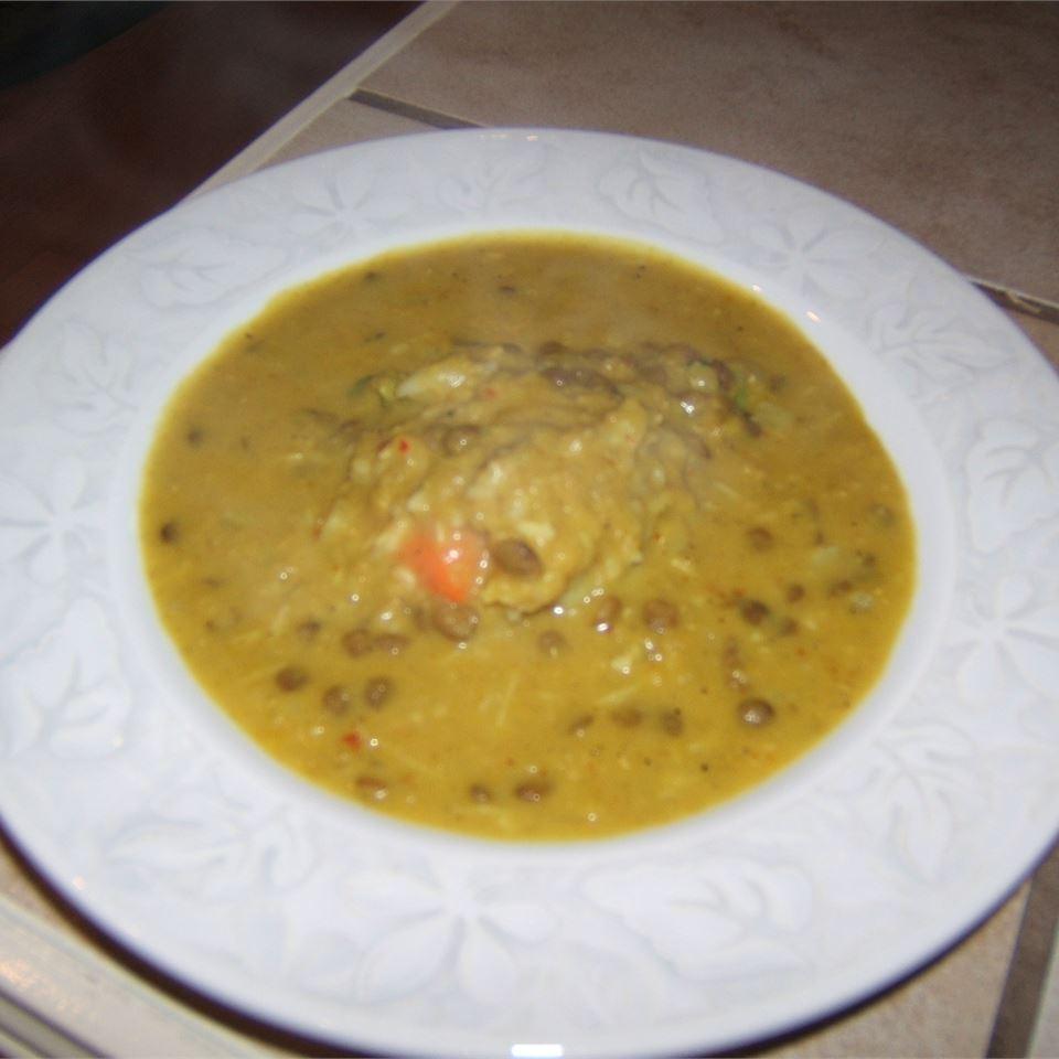 Coconut Lentil Soup Marian