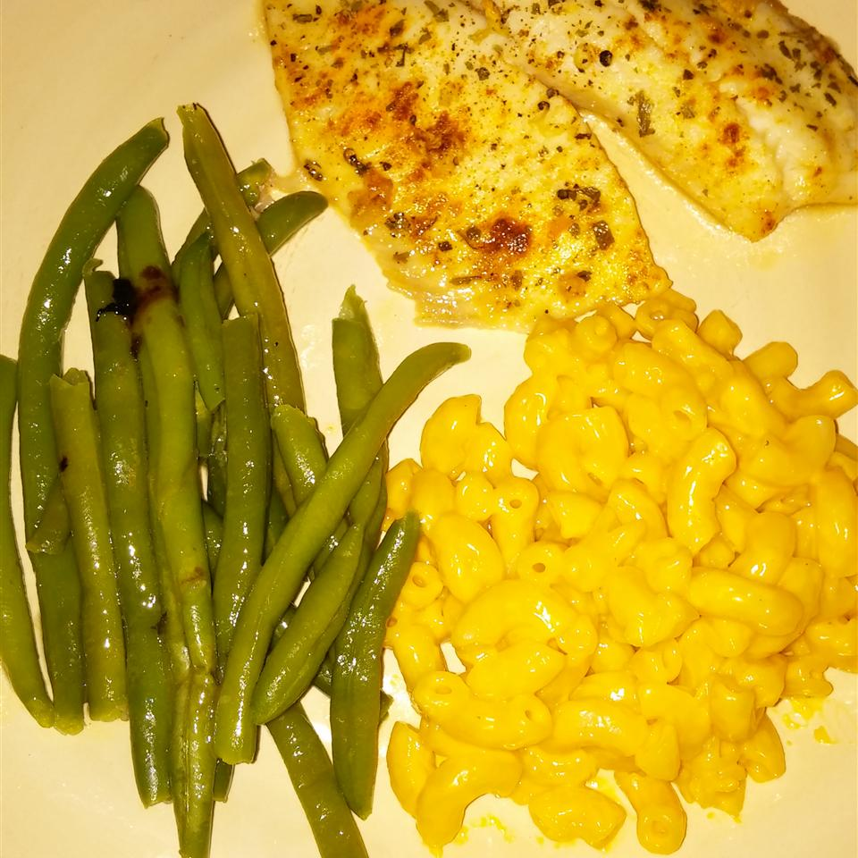 Lemon Garlic Tilapia