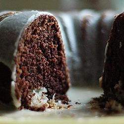 Chocolate Macaroon Tunnel Cake Charla