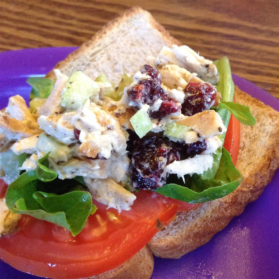 Grilled Chicken Salad Sandwich Recipe Allrecipes