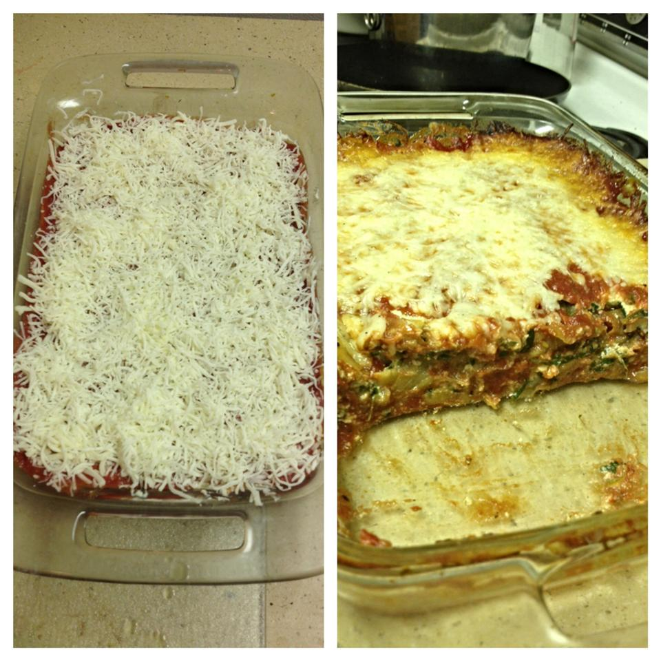 3-Cheese Eggplant Lasagna Shes0crazzy
