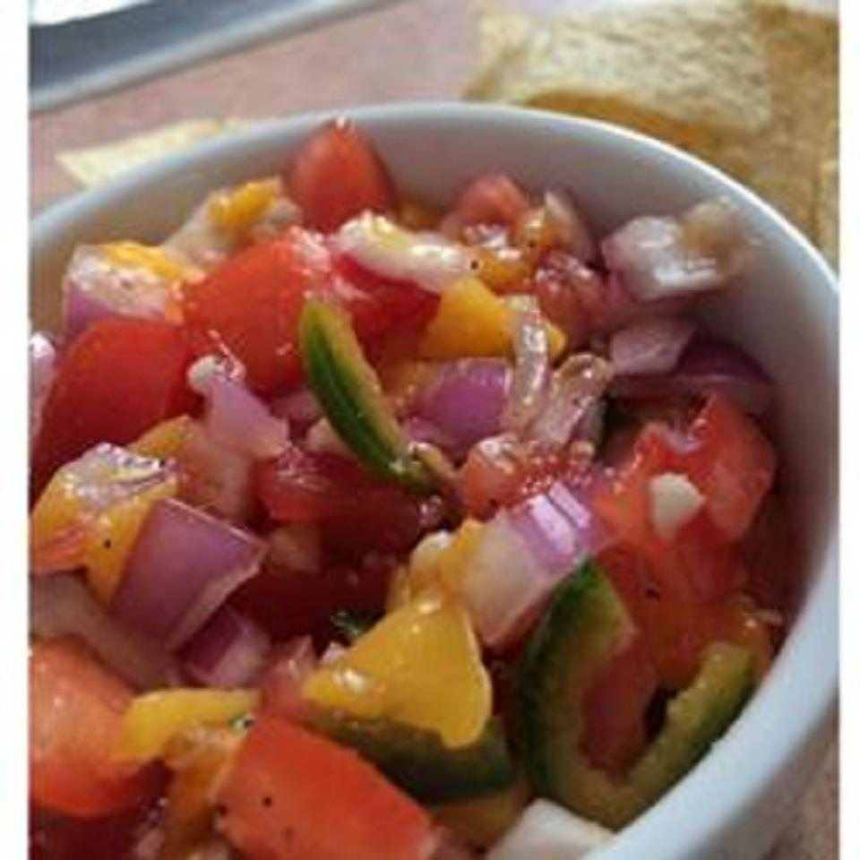 Spicy Sweet Salsa Zachary M. Franks