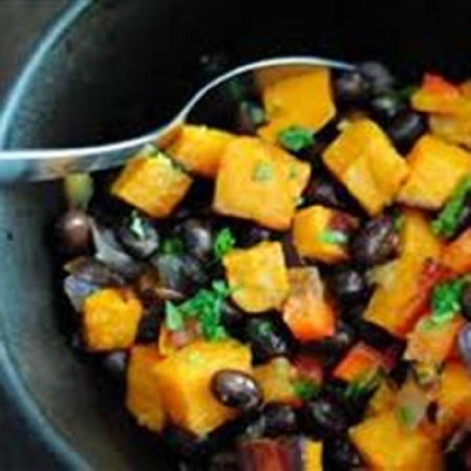 Sweet Potato and Black Bean Salad bfr610
