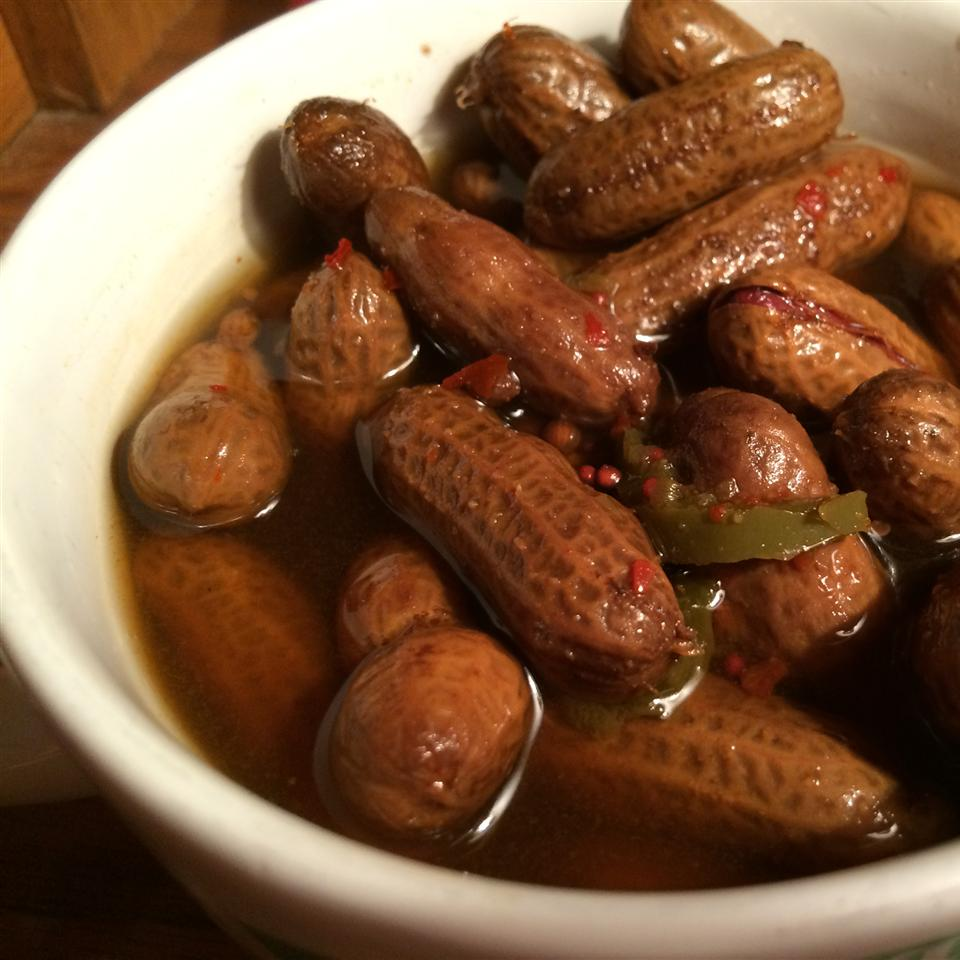 Rachael's Superheated Cajun Boiled Peanuts Fay