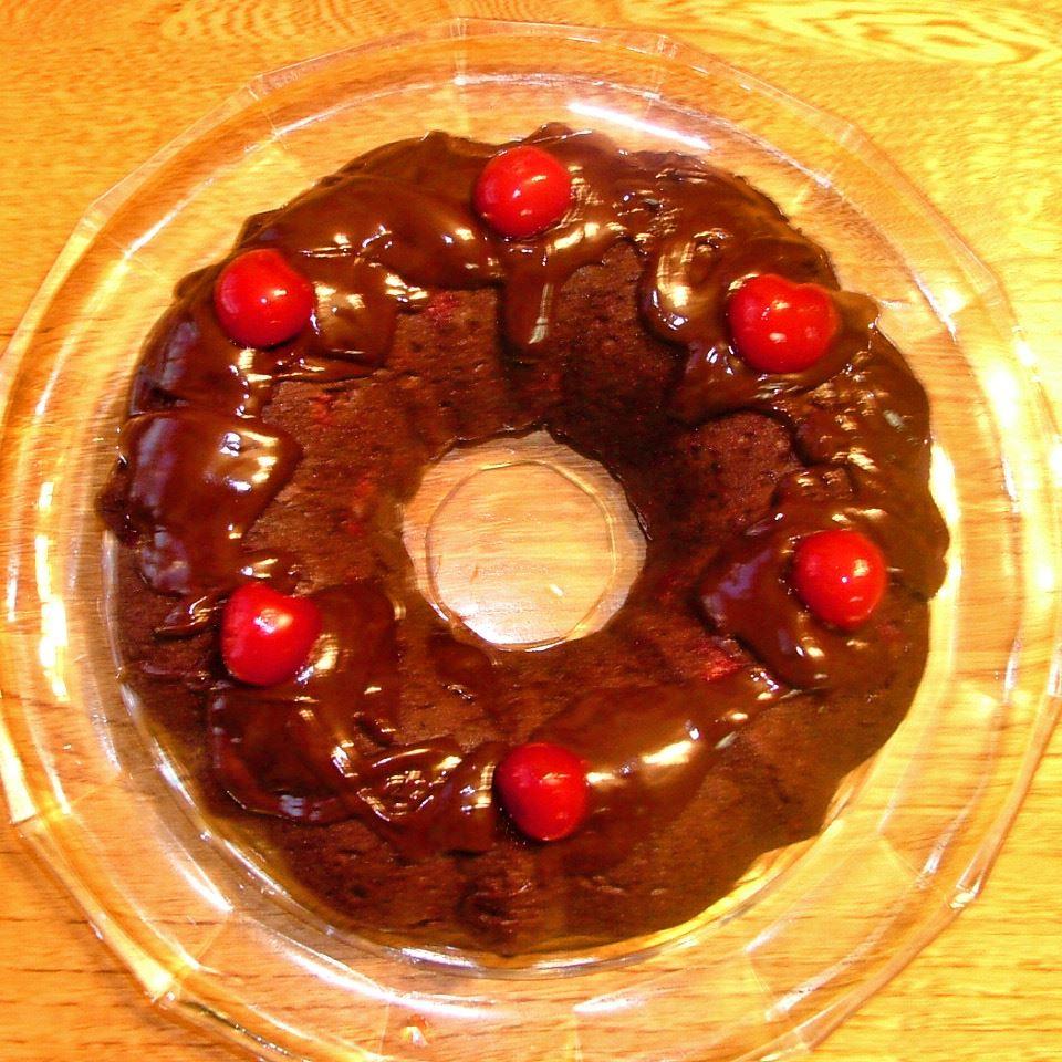 Chocolate Cherry Cake II Lesley