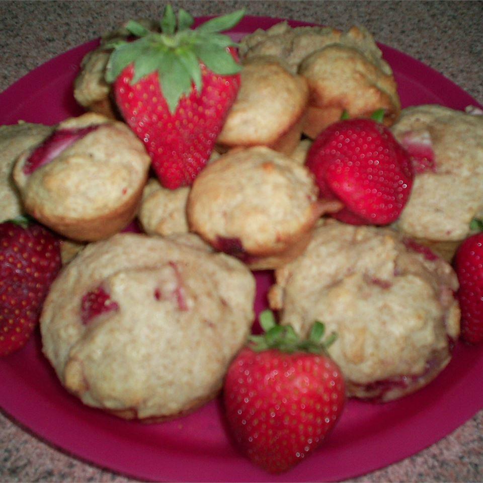 Freshly Fresh Strawberry Muffins Valerie