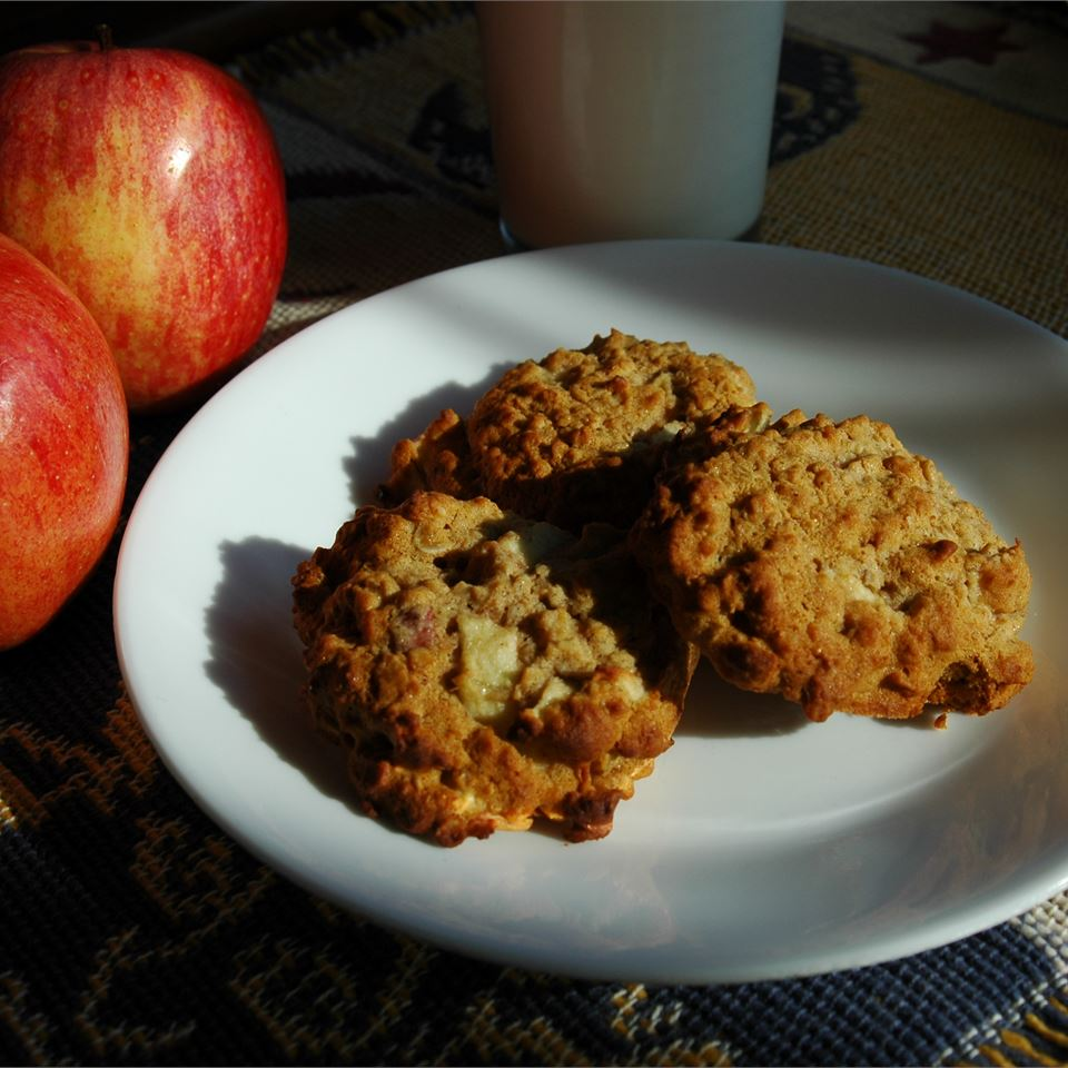 Apple Oatmeal Cookies II