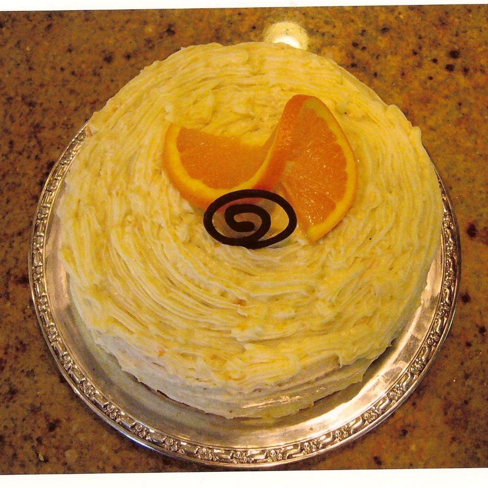 Golden Orange Frosting Lauren Hatch