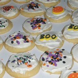 No Roll Sugar Cookies sadler