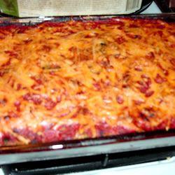 Cheryl's Spinach Cheesy Pasta Casserole XXXNAUGHTY