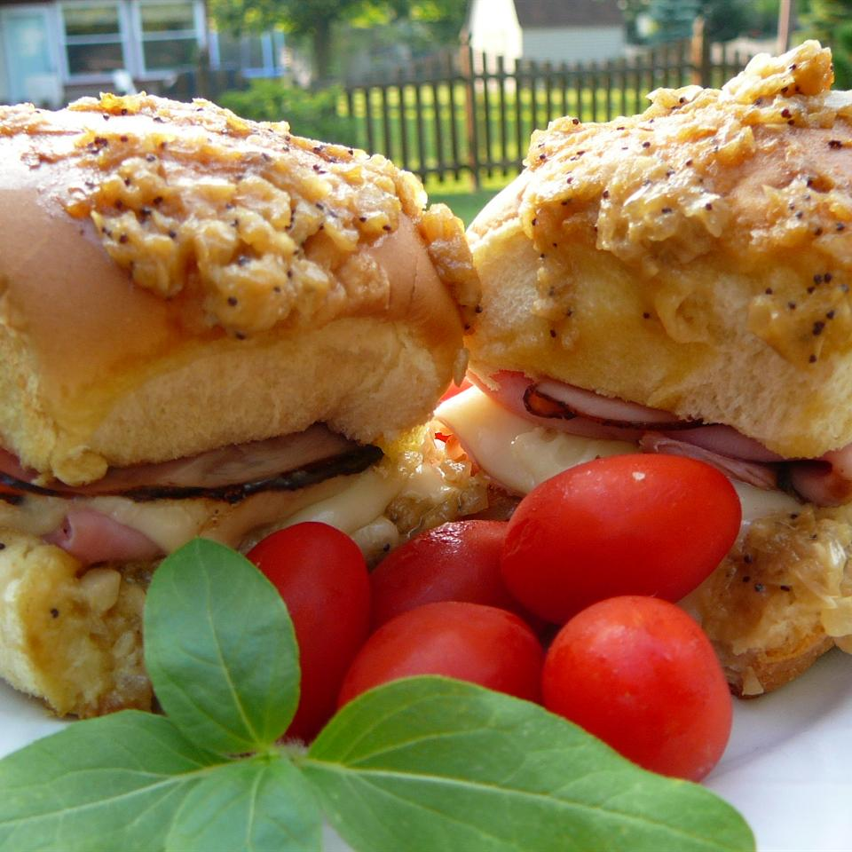 Hawaiian Ham and Cheese Sliders Susan Gee