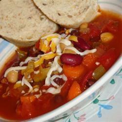 The Best Vegetarian Chili in the World Gitano