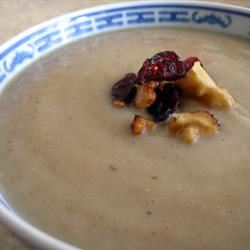 Creamy Parsnip With Ginger Soup