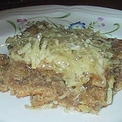 oatmeal praline cake recipe