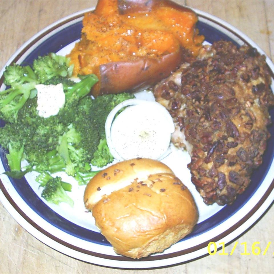 Mary's Pecan Crusted Chicken Holly J Chadwick