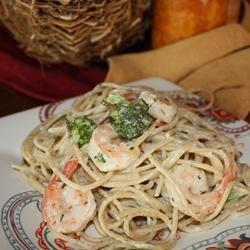 Angel Hair Pasta with Garlic Shrimp and Broccoli user
