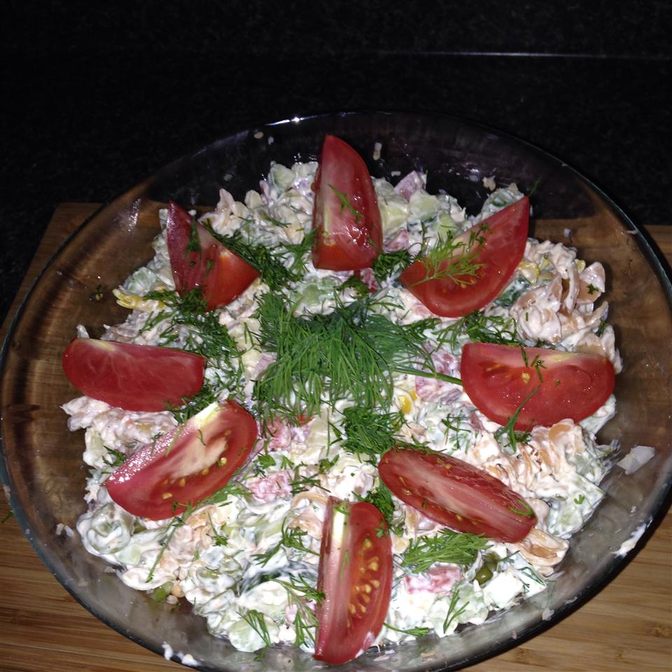 Fresh Dill Pasta Salad leglennie