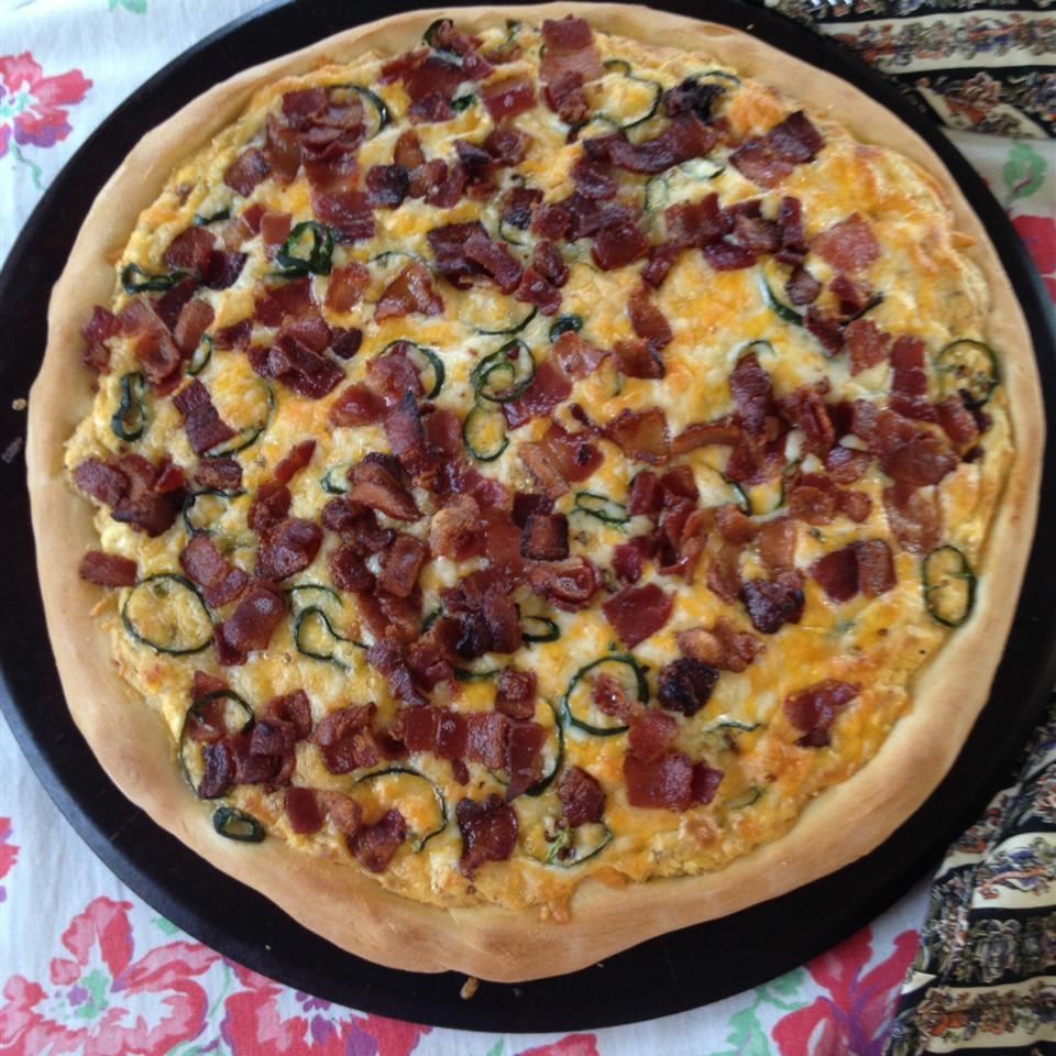Jan's Jalapeno Popper Pizza
