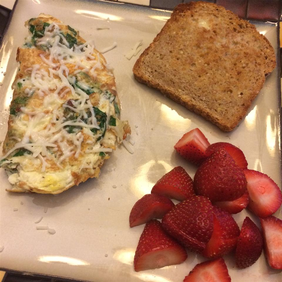 Baby Spinach Omelet nicoleeei