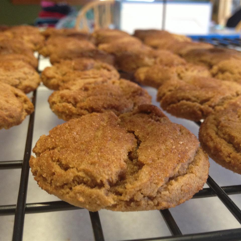 Grandma's Gingersnap Cookies