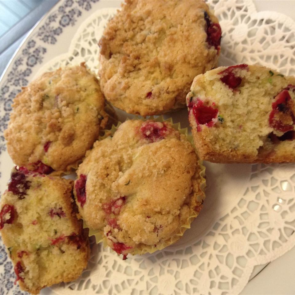 Farm Fresh Zucchini Cranberry Nut Muffins Lindsay