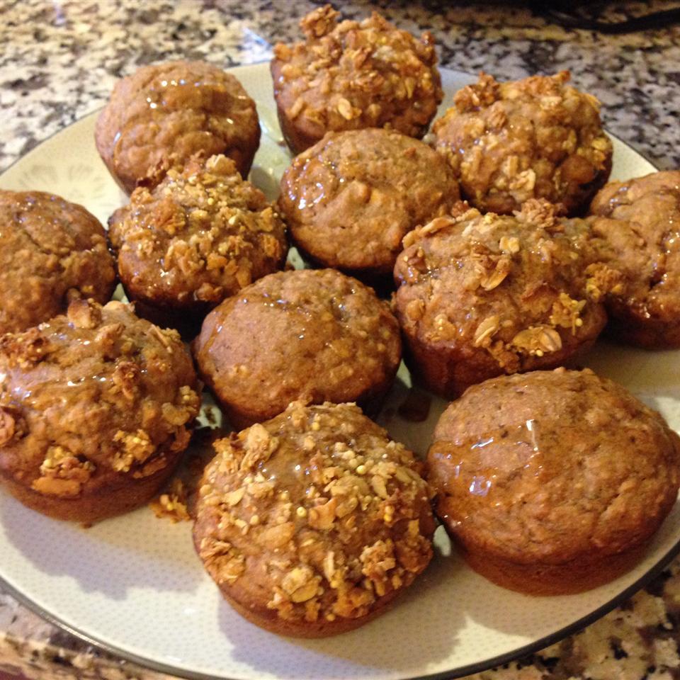 Honey Wheat Muffins Renée Buchan