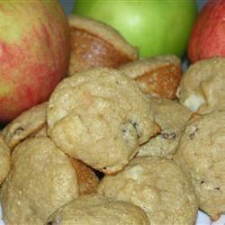 Oat Applesauce Muffins