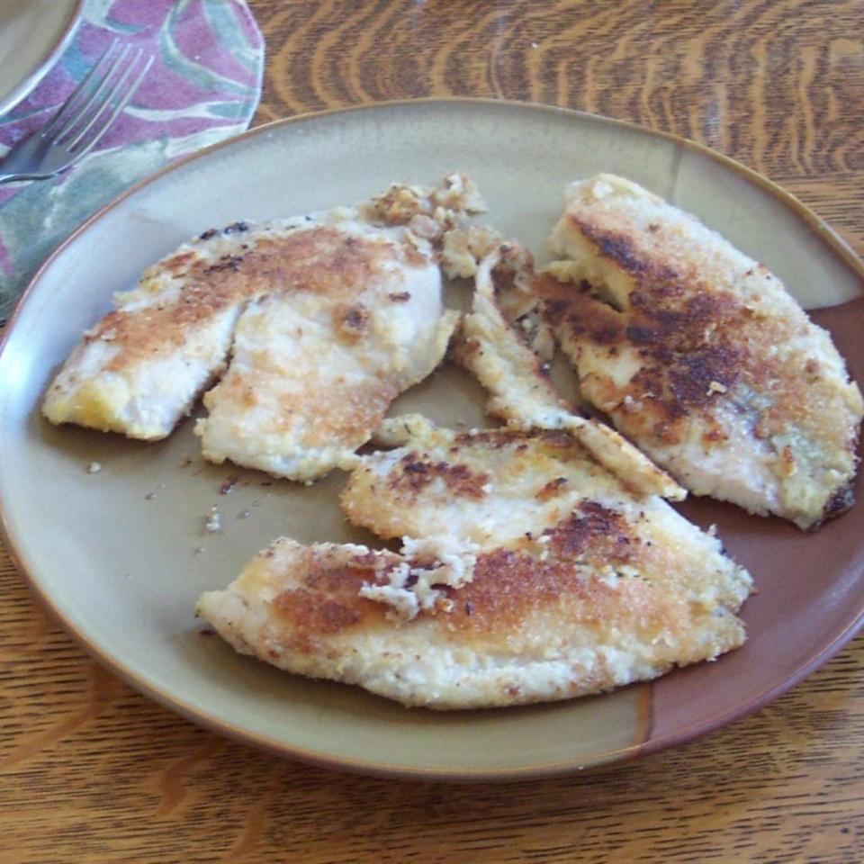 Coconut-Crusted Tilapia (Paleo) Wendy Lou