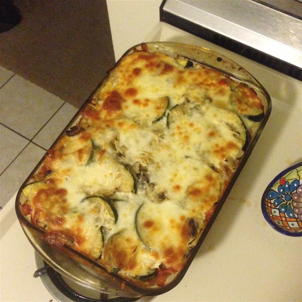 Roasted Zucchini Casserole