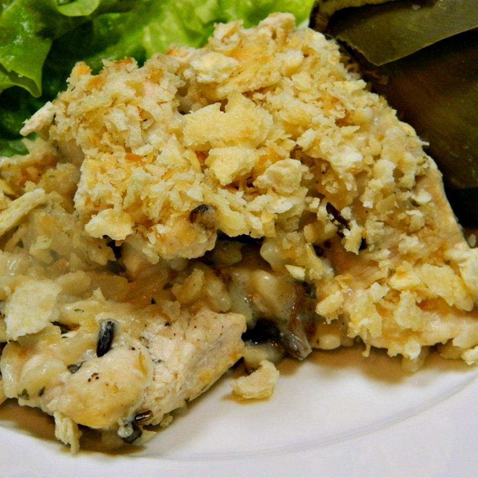 Creamy Wild Rice Chicken Casserole Marianne