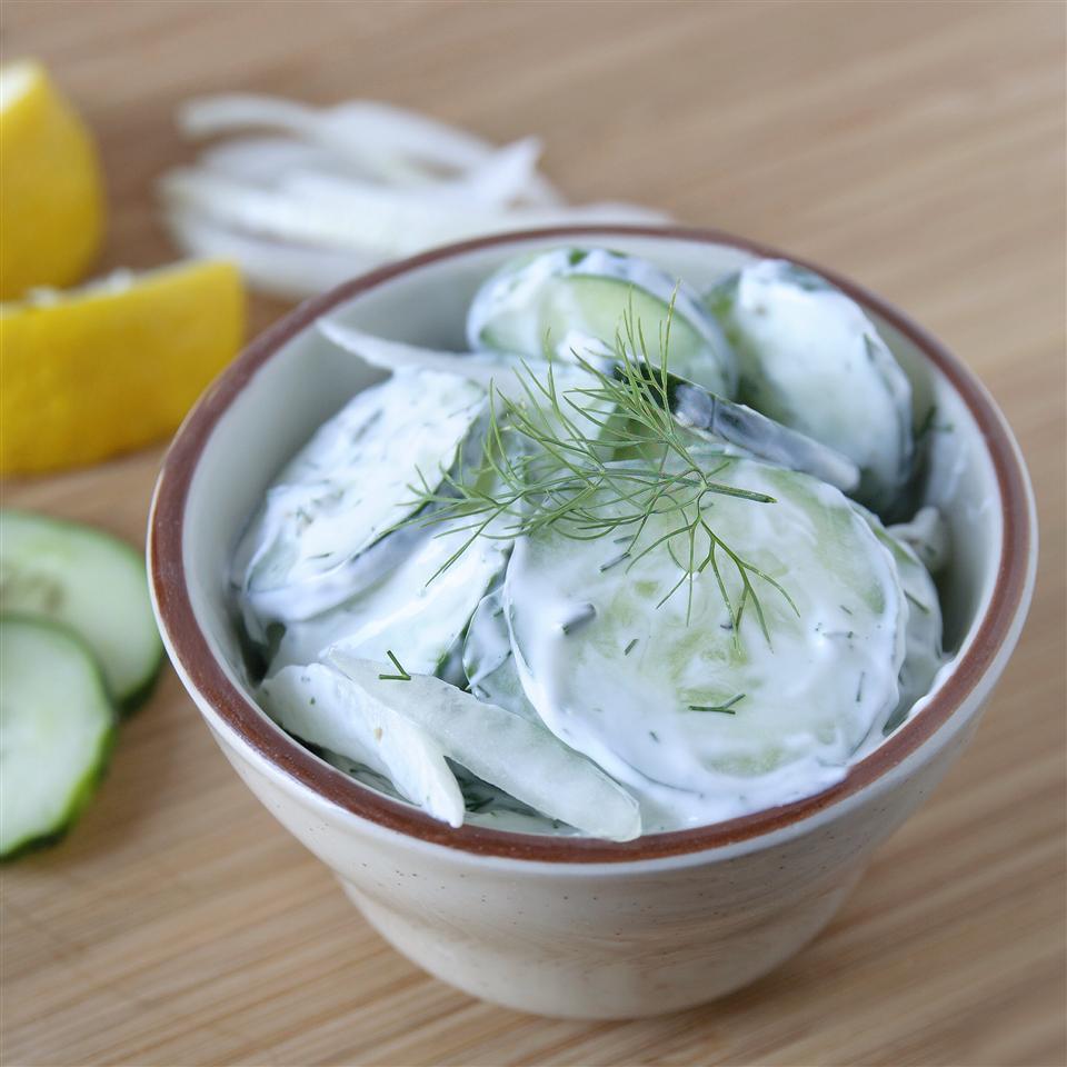 Nina's Cucumber Salad