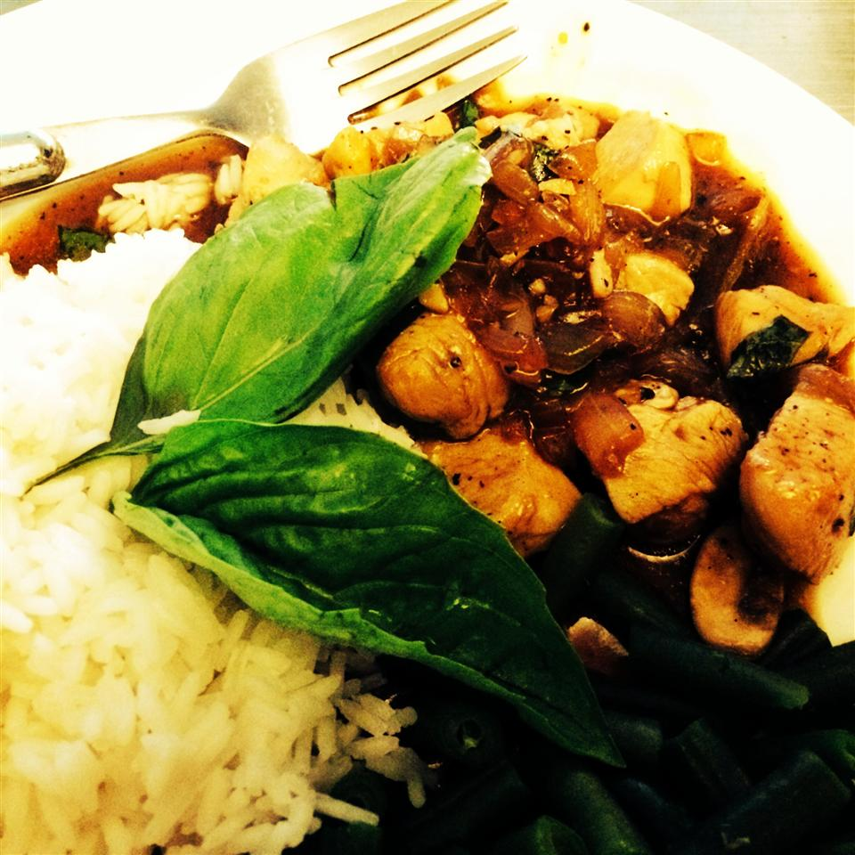 Spicy Basil Chicken Zfamily