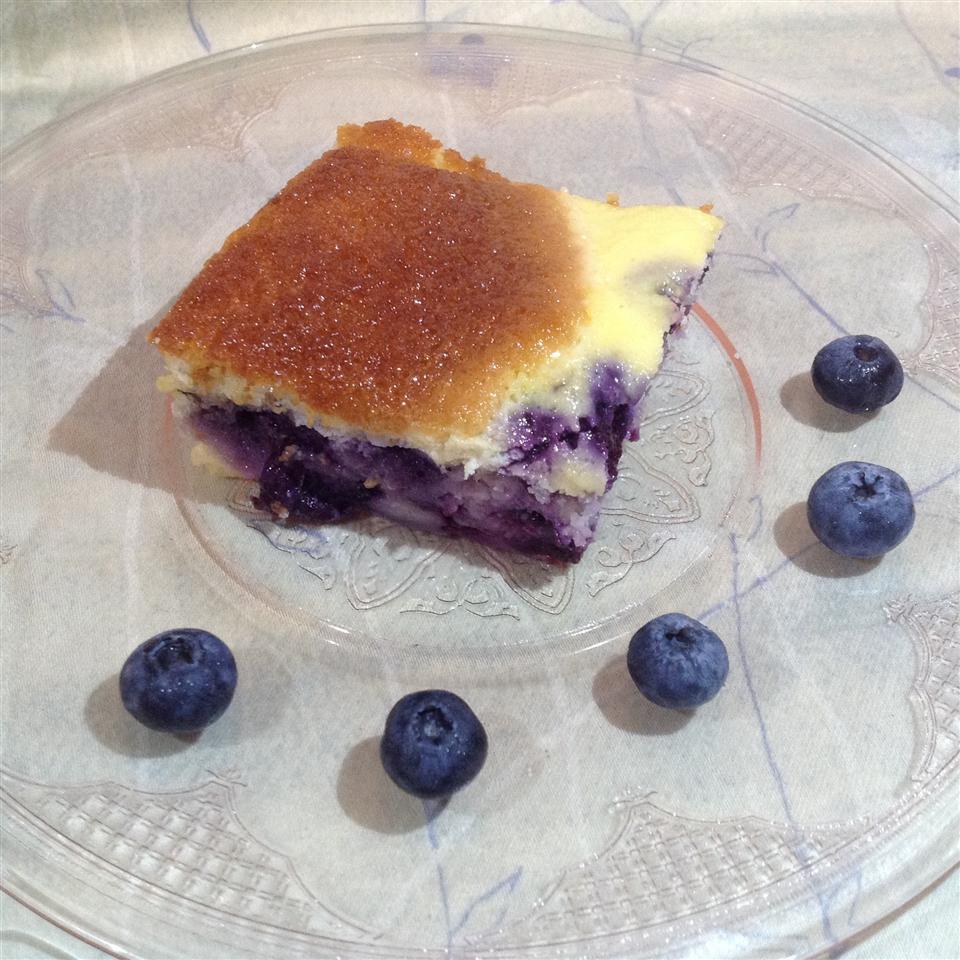 Blueberry Ricotta Squares