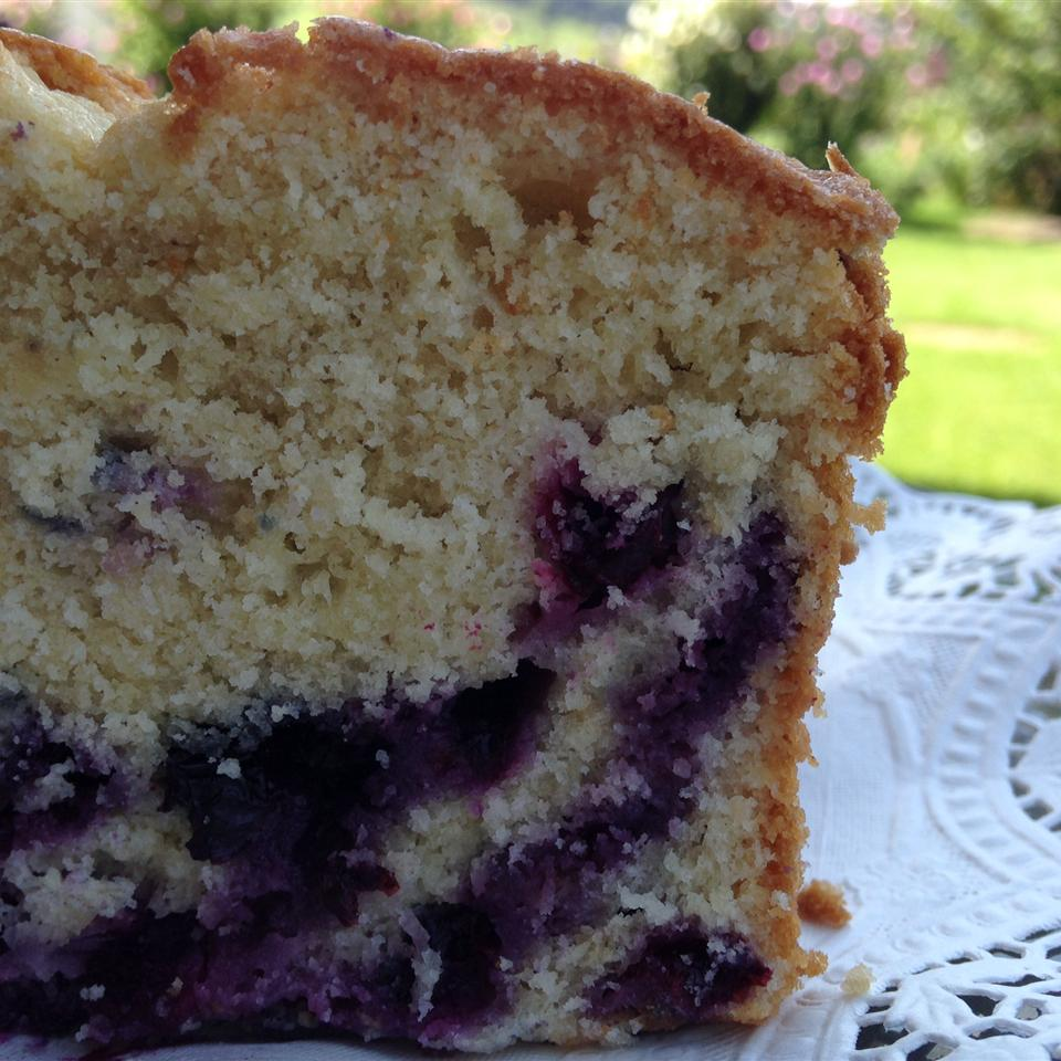 Melt In Your Mouth Blueberry Cake Leslie