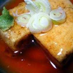 Agedashi-esque Tofu Tofu Washoi