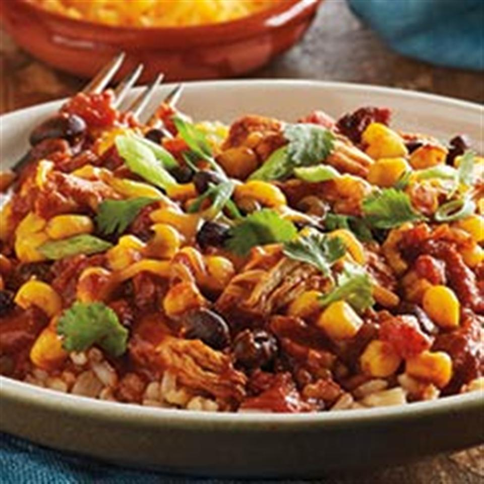 Slow Cooker Mexican Chili Bowls from Del Monte®