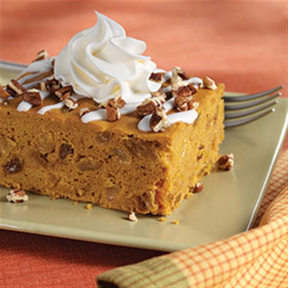 Iced Pumpkin Spice Cake Trusted Brands