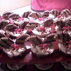 Bat Cupcakes Nadine