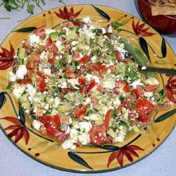 Avocado Feta Salsa TX MEX