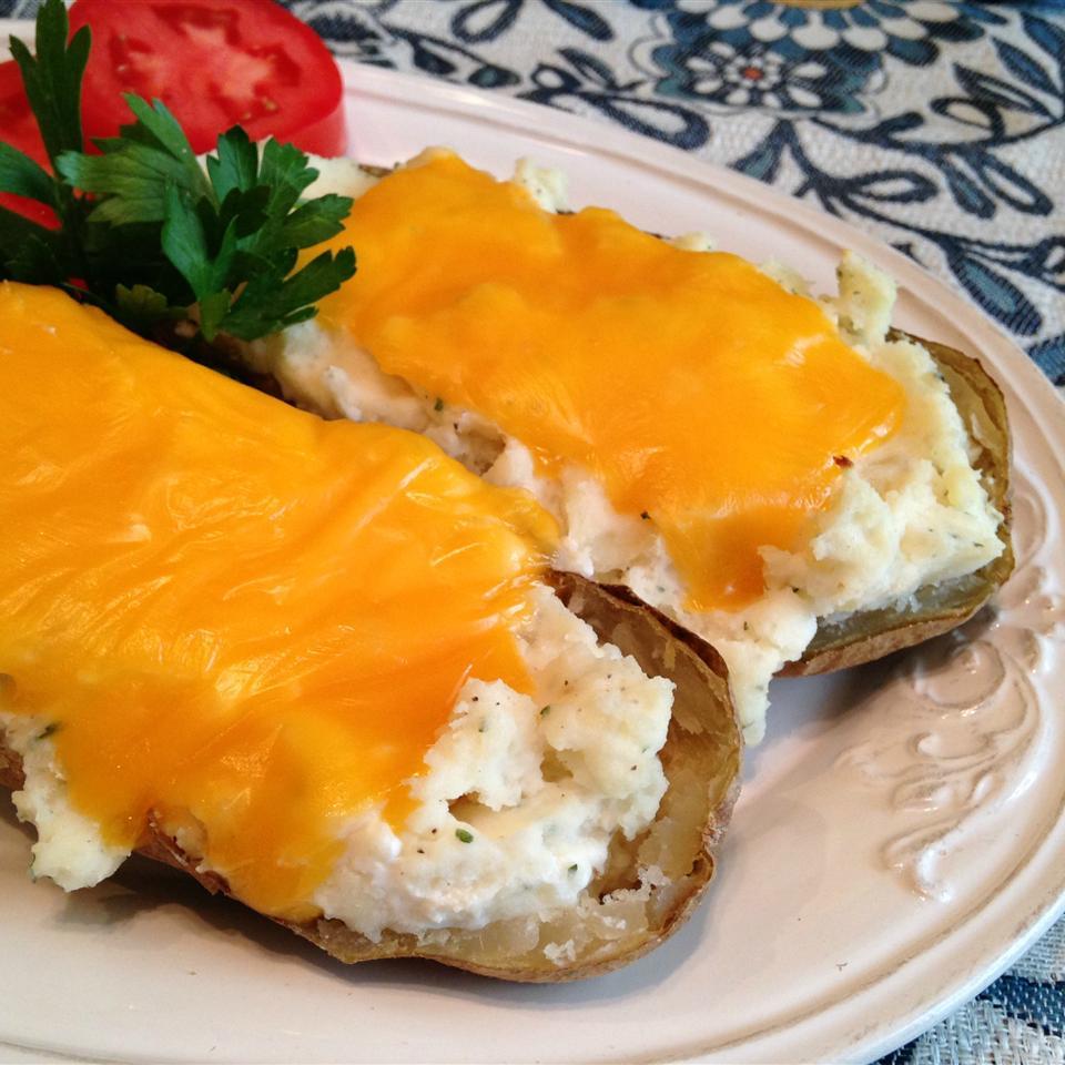 Twice-Baked Ranch Potatoes Happyschmoopies